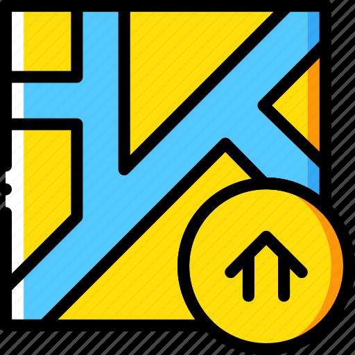 house, map, navigation, pin icon
