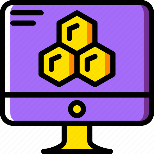 chemistry, computer, laboratory, research, science icon