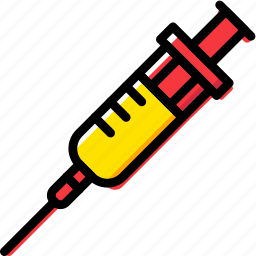 chemistry, laboratory, research, science, syringe icon