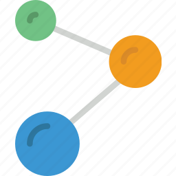 atoms, chemistry, laboratory, research, science icon