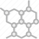 catens, chemistry, laboratory, research, science icon