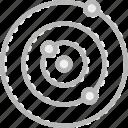 chemistry, laboratory, orbit, research, science icon