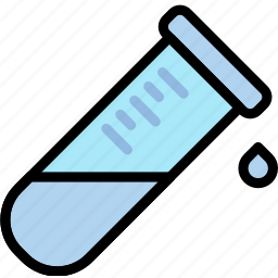 chemistry, laboratory, leaking, research, science, tube icon