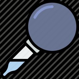chemistry, dropper, laboratory, research, science icon