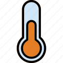 chemistry, laboratory, medium, research, science, temperature icon