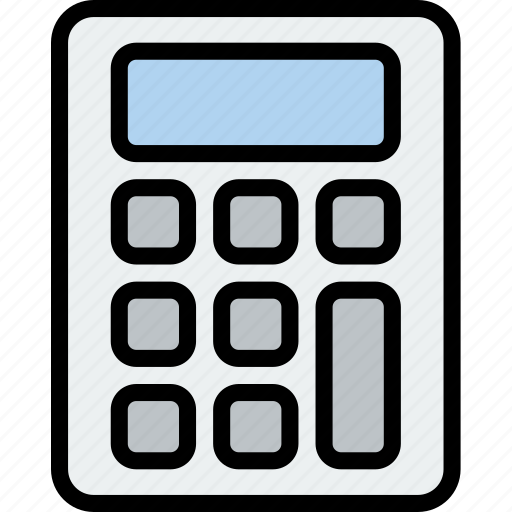 calculator, chemistry, laboratory, research, science icon
