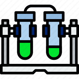 chemistry, concontion, laboratory, research, science icon