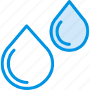 chemistry, drops, laboratory, research, science, water icon