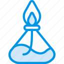 boiling, chemistry, laboratory, lamp, research, science icon