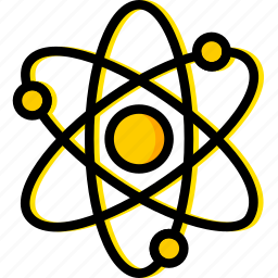 atom, chemistry, laboratory, research, science icon