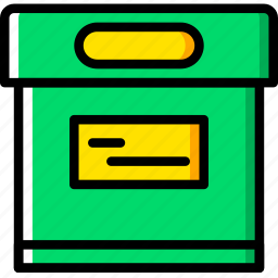 archive, box, communication, essential, interaction icon
