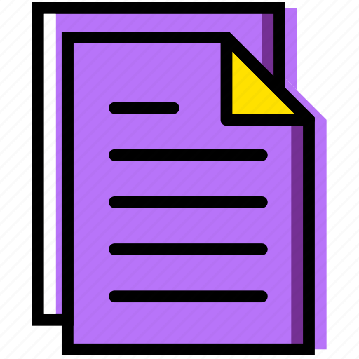 communication, essential, files, interaction icon