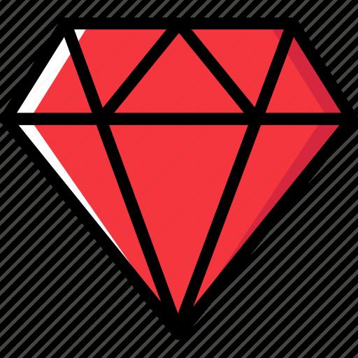 communication, diamond, essential, interaction icon