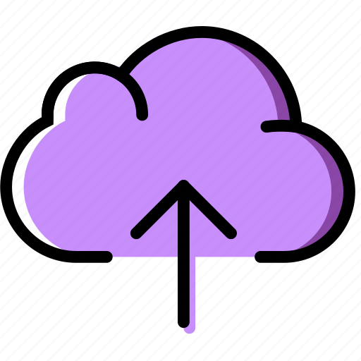 cloud, communication, essential, interaction, upload icon