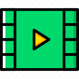communication, essential, interaction, video icon
