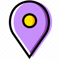 communication, essential, interaction, location icon