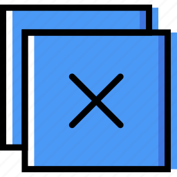 communication, essential, exit, interaction, window icon