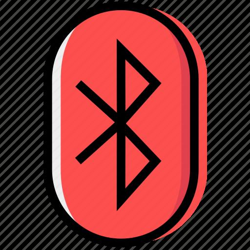 bluettoth, communication, essential, interaction icon