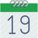 calendar, communication, date, essential, interaction icon
