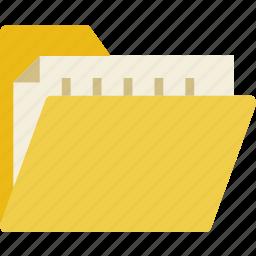communication, document, essential, folder, interaction icon