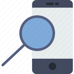 communication, essential, interaction, phone, search icon