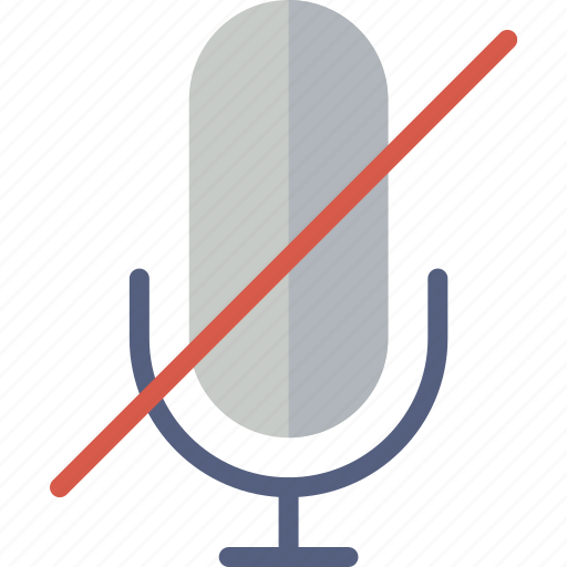 communication, essential, interaction, mute icon
