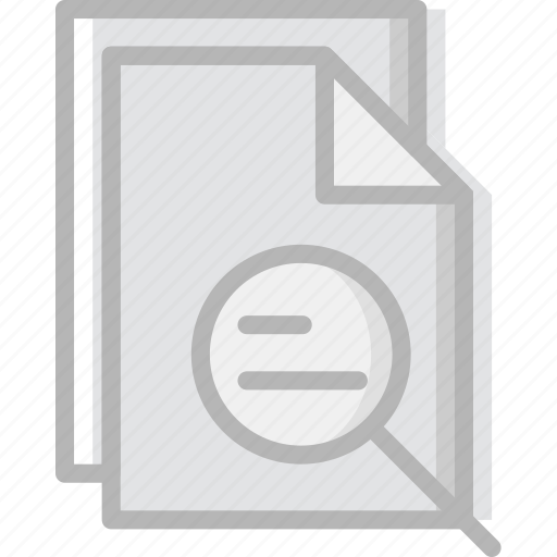 communication, essential, file, interaction, search icon