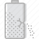 battery, communication, essential, interaction, leaking icon