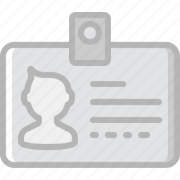 badge, communication, employee, essential, interaction icon