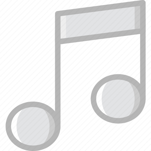 communication, essential, interaction, musical, note icon