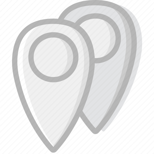 communication, essential, interaction, locations icon