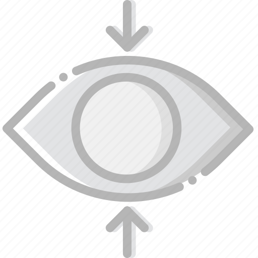 communication, essential, focus, interaction, view icon