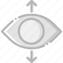 communication, essential, interaction, perspective, view icon