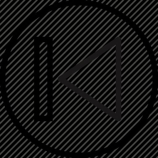 backward, communication, essential, interaction icon