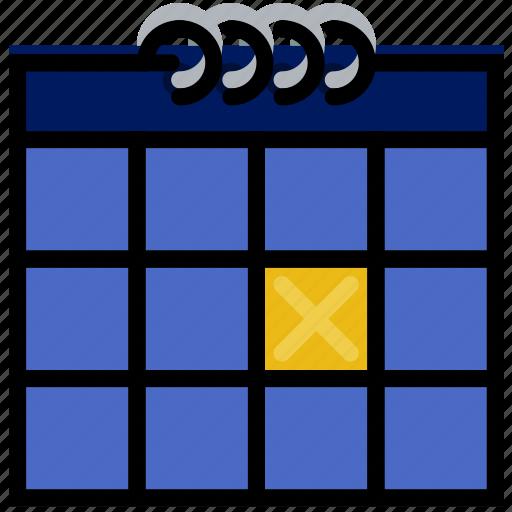 calendar, communication, essential, event, interaction icon