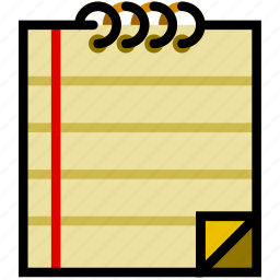communication, essential, interaction, note icon