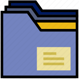 communication, essential, folders, interaction icon