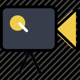 camera, communication, essential, interaction, movie icon