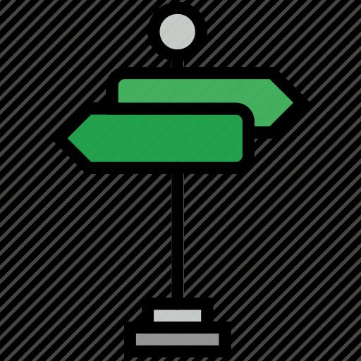 communication, essential, interaction, orientation, street icon