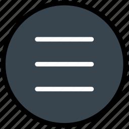 communication, essential, interaction, menu icon