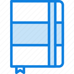 communication, essential, interaction, notebook icon