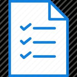 checklist, communication, essential, interaction icon