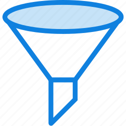 communication, essential, funnel, interaction icon
