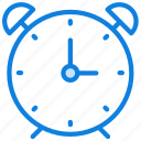 alarm, clock, communication, essential, interaction icon