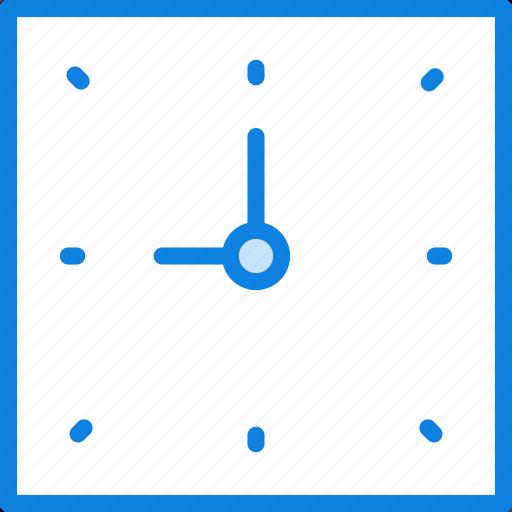clock, communication, essential, interaction icon