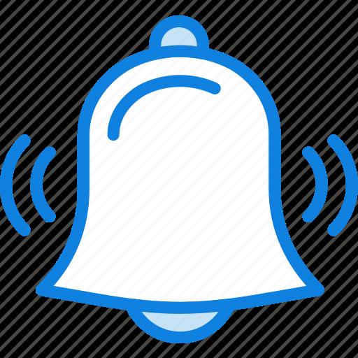 alarm, communication, essential, interaction, ringing icon