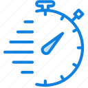 communication, essential, interaction, time, tracked icon