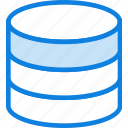 cluster, communication, database, essential, interaction icon