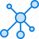 communication, essential, interaction, network icon