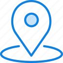 area, communication, essential, interaction, location icon